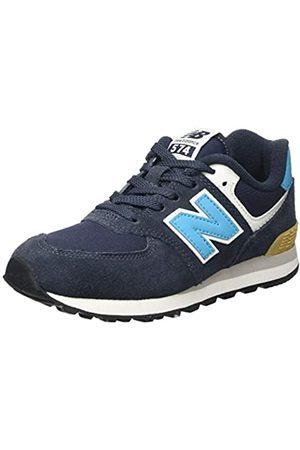 New Balance Jungen 574 Modern Sleek Pack Sneaker, (Outerspace)