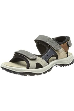 Salamander Damen LAKE Sandale, Dark Grey,Black
