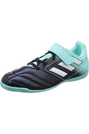 adidas Jungen Ace 17.4 in J H&l Fußballschuhe, Mehrfarbig (Energy Aqua /ftwr White/legend Ink )