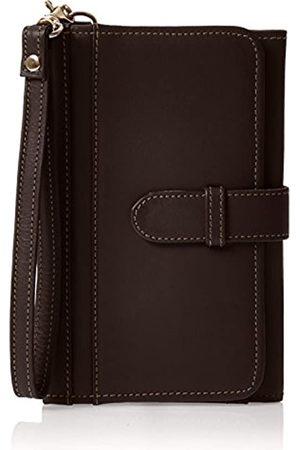 Piel Leather Kartenetui und Handy-Armband (Braun) - 3088-CHC