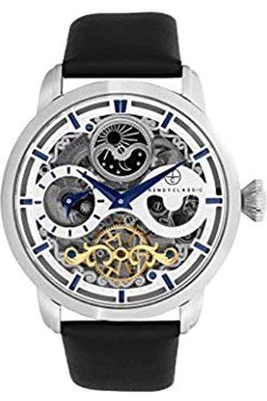 TRENDY CLASSIC Herren Uhren - Für Herren Analog Quarz Uhr mit Leder Armband CC1056-05