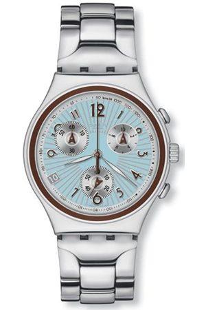 Swatch Herren Uhren - HerrenArmbanduhrenCurlingFamousAnalogQuarzEdelstahlYCS501G
