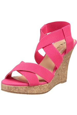CL by Chinese Laundry Damen Ajour Gore, Pink (Fuchsia)