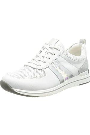 Remonte Damen R6701 Sneaker, Weiss/Silver/ -Multi/ / 80
