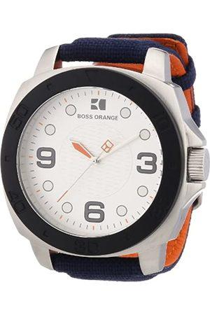 HUGO BOSS Boss Orange Herren-Armbanduhr Analog Nylon 1512667