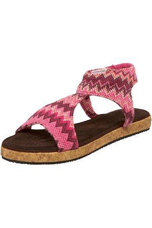 MUK LUKS Damen Mondo Sandalen, Pink (Beere)