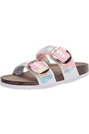 Madden Girl Damen Bonus Schiebe-Sandalen, Helle Batik-Farbe