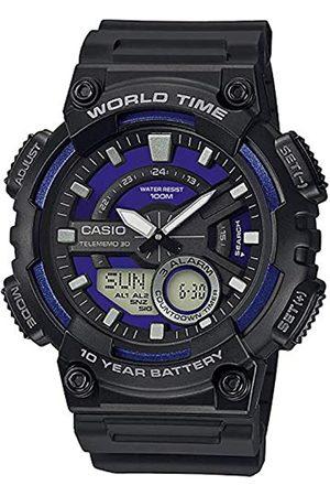 Casio Herren Analog – Digital Quarz Uhr mit Resin Armband AEQ-110W-2A2VEF