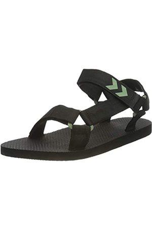 Hummel Womens Strap Sandal Sneaker, Black