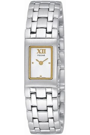 Pulsar Damen-Armbanduhr XS Analog Edelstahl PEG447X1