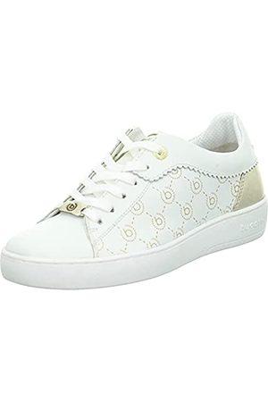 Bugatti Damen 433A3V024049 Sneaker, White/Metallics