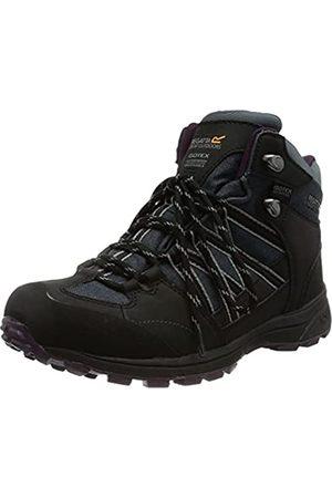 Regatta Damen Ldy Samaris Md II Walking Shoe, SealGry/Prun