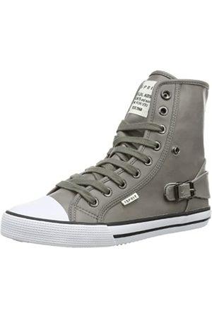 Esprit Benny Metal Hi 024EKKW027, Unisex-Kinder Sneaker, (cement grey 054)