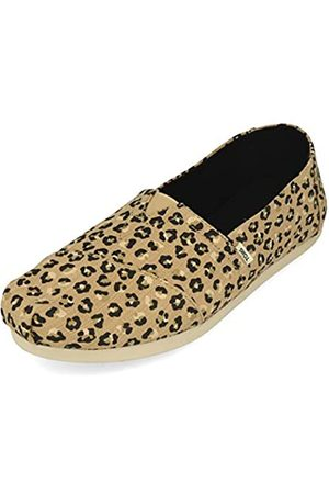 TOMS Womens Classics Alpargata Damen Natural Textured Cheetah EUR 41