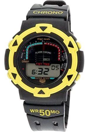 Digi-Tech Herren-Armbanduhr Chrono Race Digital Quarz Kautschuk DT102930
