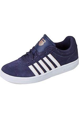 K-Swiss Damen Court CHESWICK SPSDE Sneaker, GRAYSTN/RSEGLD/WT