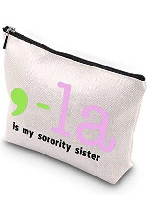 WCGXKO Sorority Gift Pink und Grün Comma-La Is My Sorority Sister African American Black Griechisches Geschenk