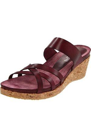 Cordani Damen Zucca Sandalen mit Keilabsatz, Rot (Rasberry)