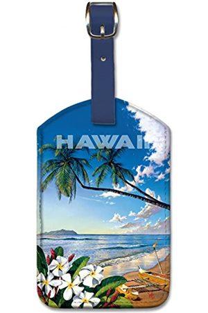 Pacifica Island Art Westmoreland Gepäckanhänger aus Kunstleder
