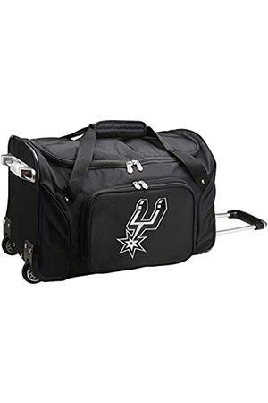 Denco NBA San Antonio Spurs Reisetasche mit Rollen, NBSPL401, 55,9 x 30