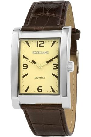Excellanc Herren-Uhren mit Polyurethan Lederband 292027500185