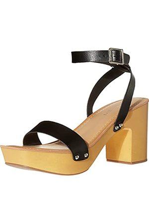 Madden Girl Damen CODA Sandale mit Absatz, (Black Pu)