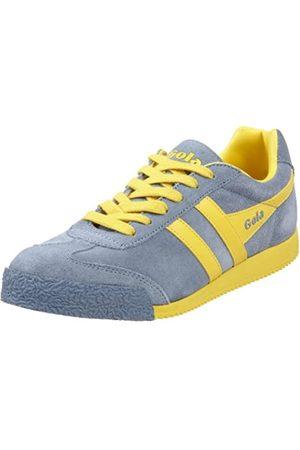 Gola Damen Harrier Sneaker, (Storm Blue/Yellow)