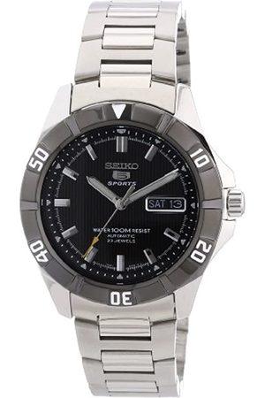 Seiko Herren-Armbanduhr XL 5 Analog Automatik Edelstahl SNZD13K1