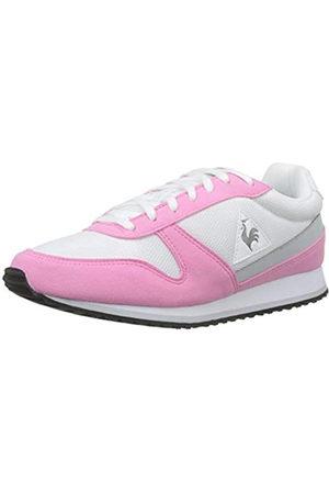 Le Coq Sportif Damen Alpha Ii Sneaker, Pink (Pink Carnation/Optical White Pink Carnation/Optical White)