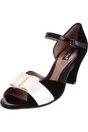 BeautiFeel Sapphire Damen-Sandalen mit Knöchelriemen, ( /Porzellan-Kombination)