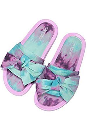 Cape Robbin Sherlock Flache Sandalen für Damen, Pantoletten, Schlupfschuhe, Violett (Fliederfarben)