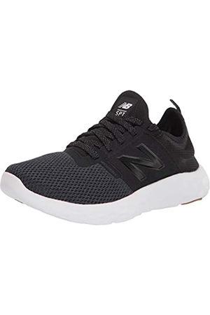 New Balance Womens Spt V2 Running Shoe, Black/White/Gum