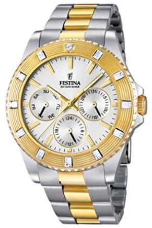 Festina Unisex-Armbanduhr Trend Analog Quarz Edelstahl beschichtet F16696/1