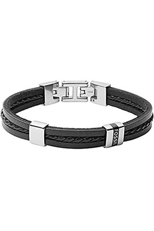 Fossil Herren Armband Leather Essentials mehrsträngig Leder