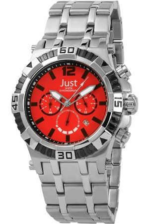 Just Watches Just Herren-Armbanduhr Chronograph Quartz 48-STG2371RD