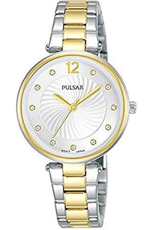 Pulsar Damen Analog Quarz Uhr mit Metall Armband PH8492X1