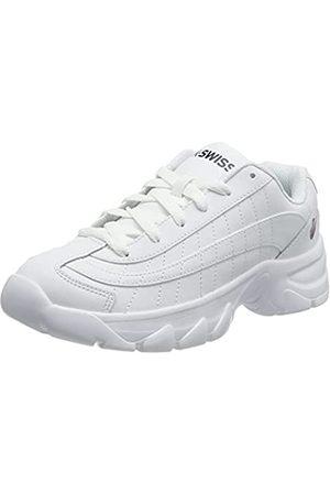 K-Swiss Damen ST129 Sneaker, White/Corporate