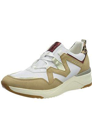 Bugatti Damen 431A2L015455 Sneaker, Sand/Mehrfarbig