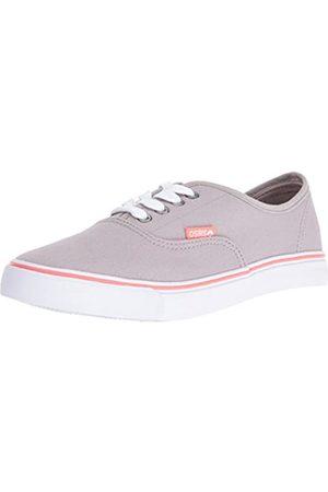 Osiris Women's LA Skateboarding Shoe, Grey/Pink