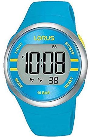 Lorus Damen Digital Quarz Uhr mit Silicone Armband R2341NX9