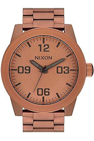 Nixon Armbanduhr Corporal Edelstahl