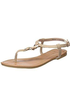 New Look Damen Wide Foot Immaline Sandalen, (Oatmeal 14)