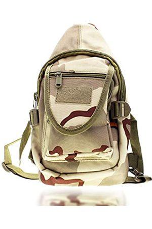 Tac Threads 12,5 x 7 kleine Camo Tactical Travel Crossbody Rucksack Schultertasche Mini Sling Military Tool Tasche für Jagd