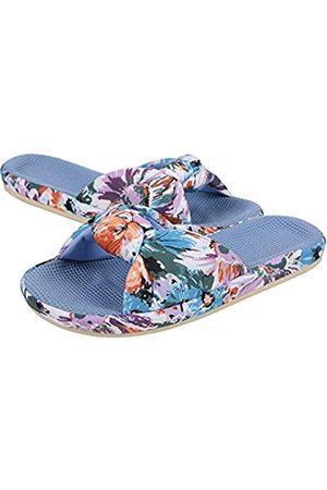 shevalues Damen Sommer Hausschuhe mit Arch Support Leichte Hawaii Beach Slide Pantoffeln Offene Zehe