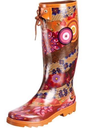 Desigual Damen Ankle Boot Alile-3 Gummistiefel, Mehrfarbig (Azafran 7001)