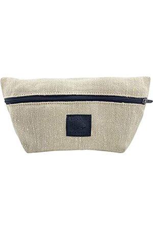 Santa Playa Schicke Make-up-Tasche handgefertigt aus gewebtem Hanf - alle natürlichen Materialien, vegan und umweltfreundlich - persönliche Gegenstände Halter und Aufbewahrung für Taschen und Geldbörsen Organisation