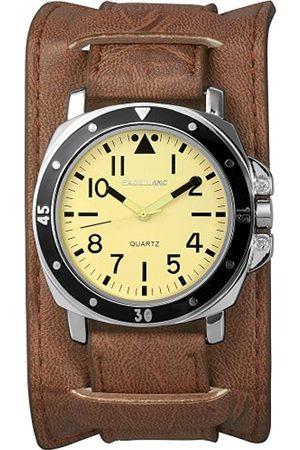 Excellanc Herren-Uhren mit Polyurethan Lederband 295027500068