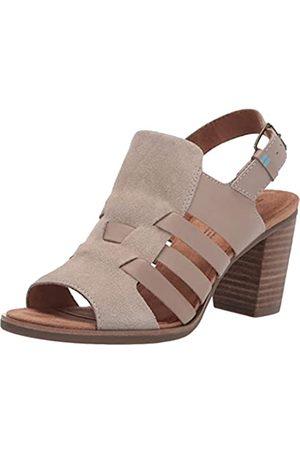 TOMS Damen Majorca Woven Heeled Sandal