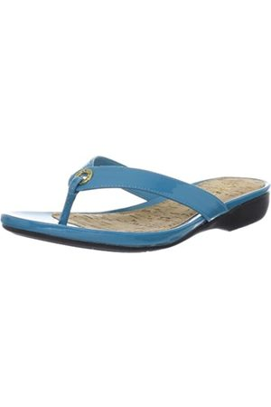 LAUREN RALPH LAUREN Damen Karmina Flip Flop, ( - Aztec Blue)
