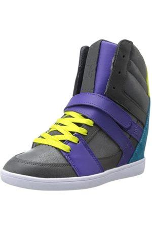 DC Damen Mirage Mid J Shoe Bhz Niedrige Hausschuhe, Lila (Dark Shadow Purple)